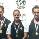 Skeet Döntős OB 2015 győztes Honvéd Bólyai SE csapat
